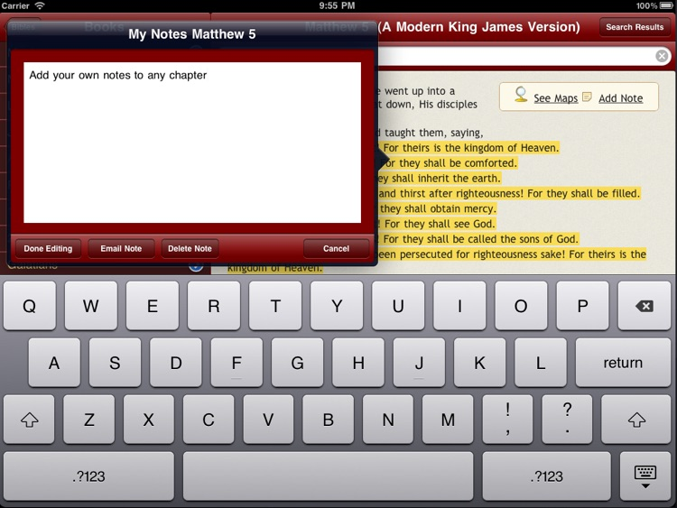 67 Bibles for Study with Audio and Maps screenshot-4