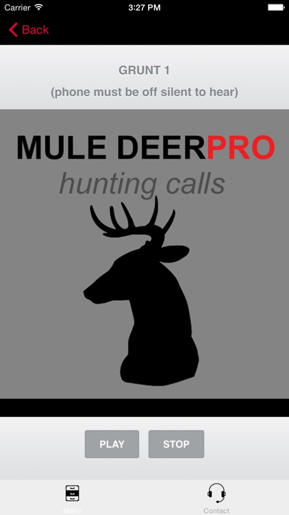 REAL Mule Deer Calls - BLUETOOTH COMPATIBLE screenshot-1