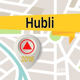 Hubli Offline Map Navigator and Guide