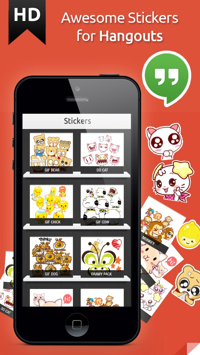 download Stickers for Hangouts Pro Edition apps 0