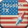 ヒューストン地図