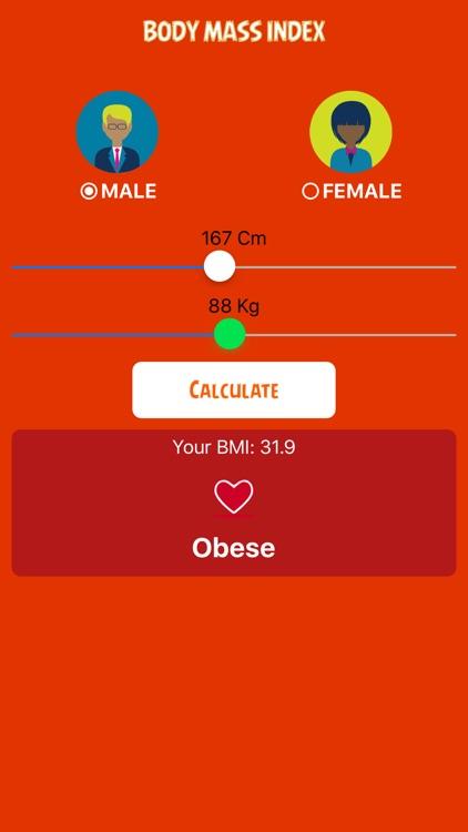 BMI+ Calculator screenshot-3