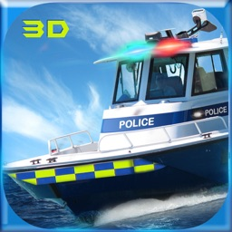 Police Boat Simulator 3D: Coast Guard Game