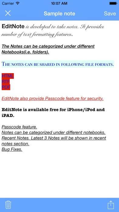 download EditNote apps 0