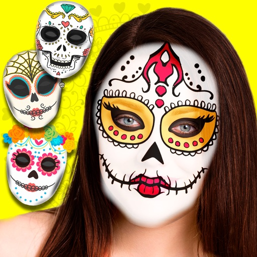 Snap Catrina  photo editor - Sugar skull Mexican iOS App