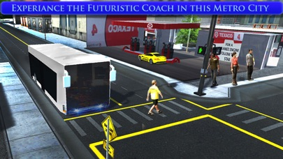 City Tourist Bus Coach 2016 screenshot three