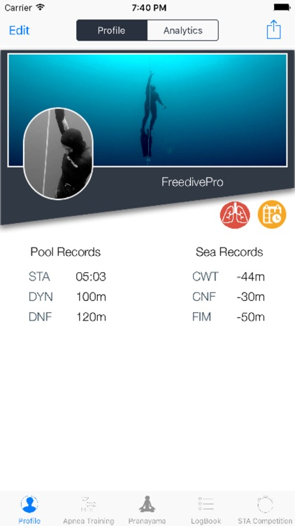 FreedivePro screenshot-0