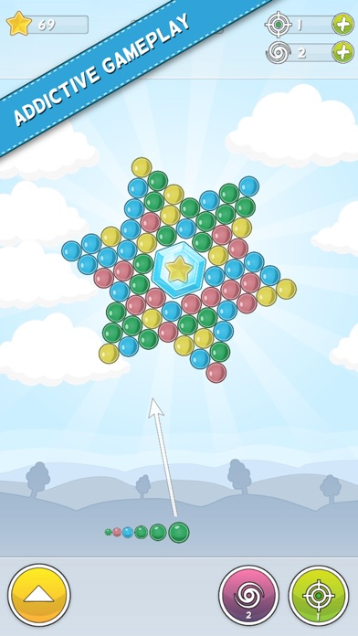 Bubble Cloud: Spinning Bubbles Скриншоты5