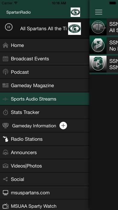 Spartan Sports Network review screenshots
