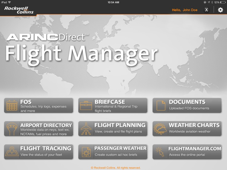 Flight Manager