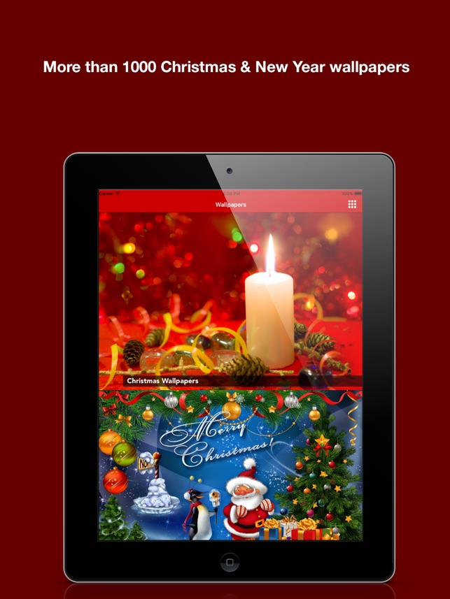 christmas background wallpaper new year greeting on the app store