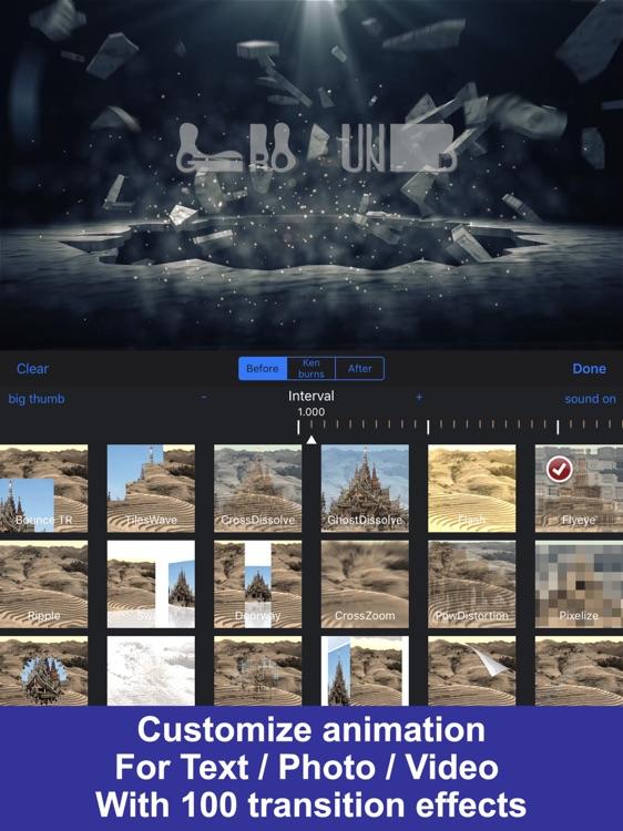 IntroMovies - Intro maker designer for iMovie (HD) screenshot-3