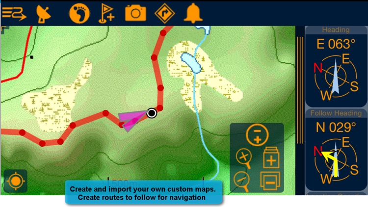 PathAway PRO - Outdoor GPS Nav