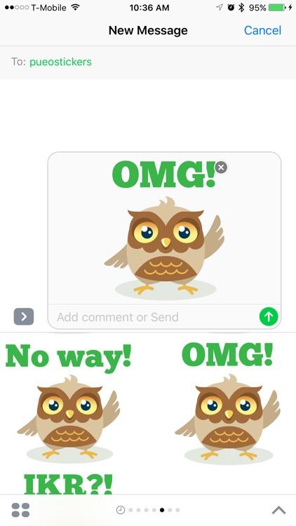 Pueo Stickers screenshot-3