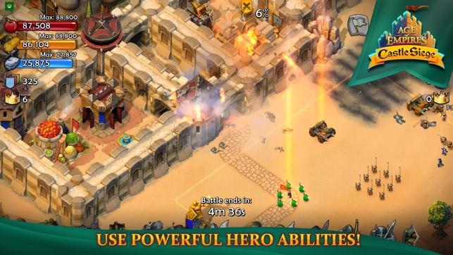 Age of Empires: Castle Siege Screenshot