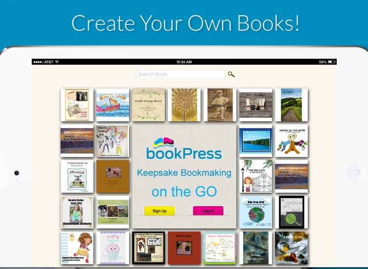bookPress - Print Book Creator screenshot-0