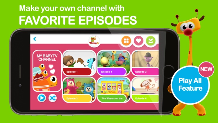 Baby TV Legacy app