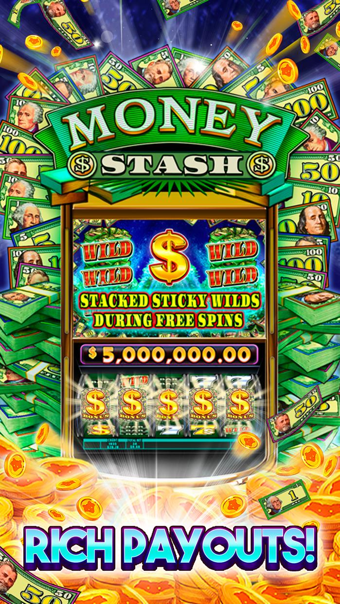 Buffalo 5-Reel Deluxe Slots - Free Classic Vegas Screenshot