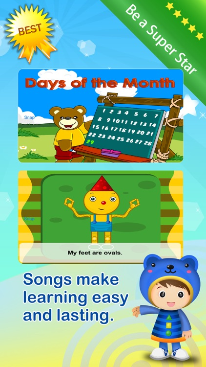 Baby ABC Numbers Math Nursery Rhymes Video Songs screenshot-3