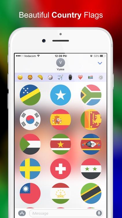 New Emoji Stickers for iMessage screenshot-4