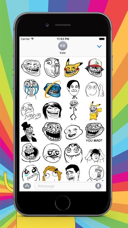 Funny Sticker - Emoji for iMessage keyboard