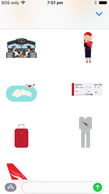 Qantas Stickers screenshot-2