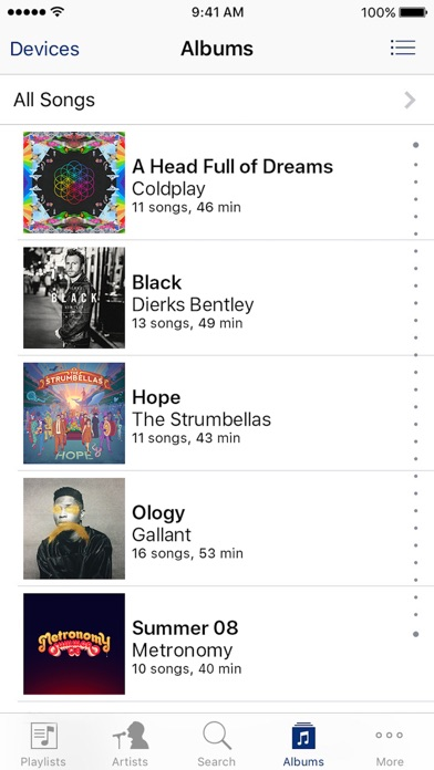 iTunes Remote screenshot two