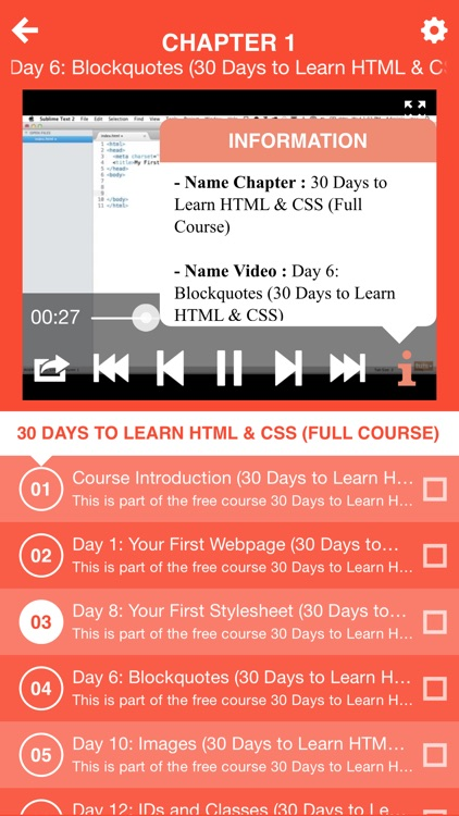 Course for 30 Days to Learn HTML & CSS (Full Course) by Thai Nguyen