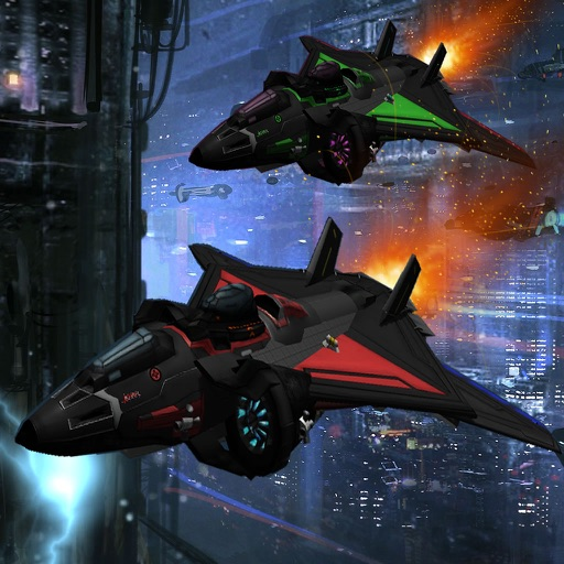 A Spacecraft To High Speed - Game Ship Fighter Lightning