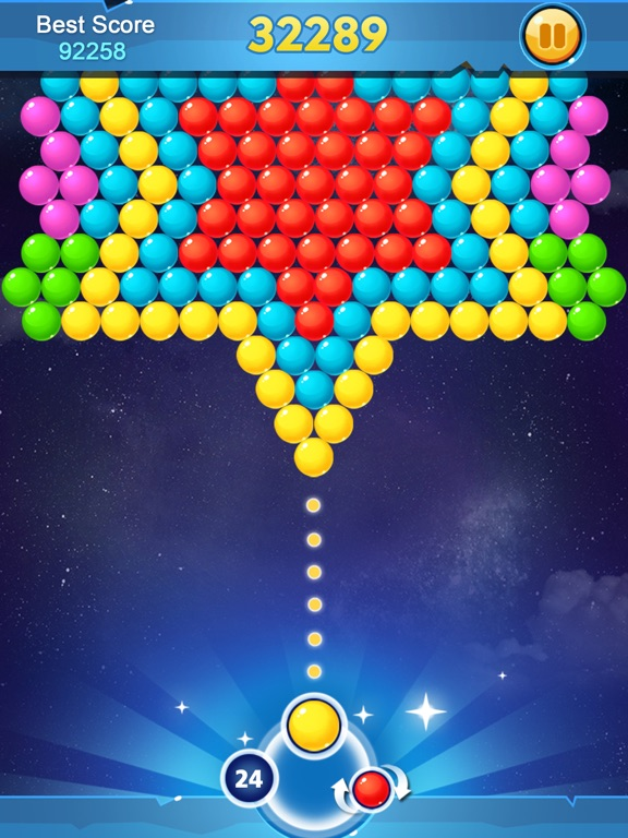 puzzle bubble shooter game