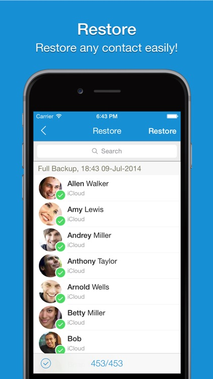 Easy Backup Pro - Contacts Backup Assistant screenshot-4