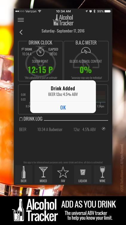 Digital Alcohol Tracker - Your Pocket BAC Meter