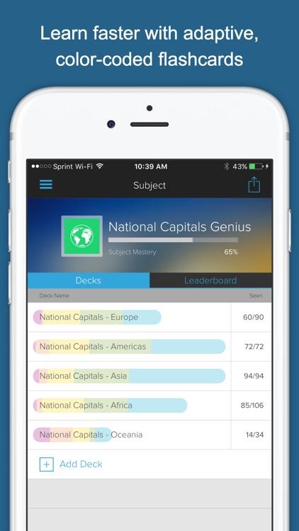 National Capitals Genius