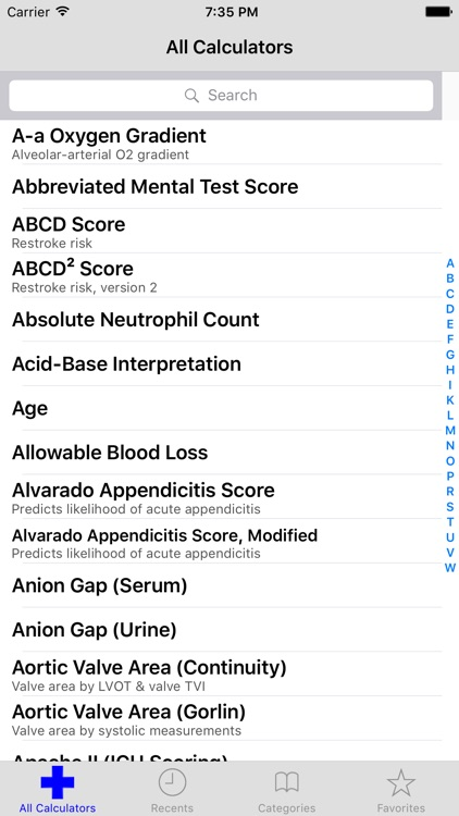 MediMath Medical Calculator