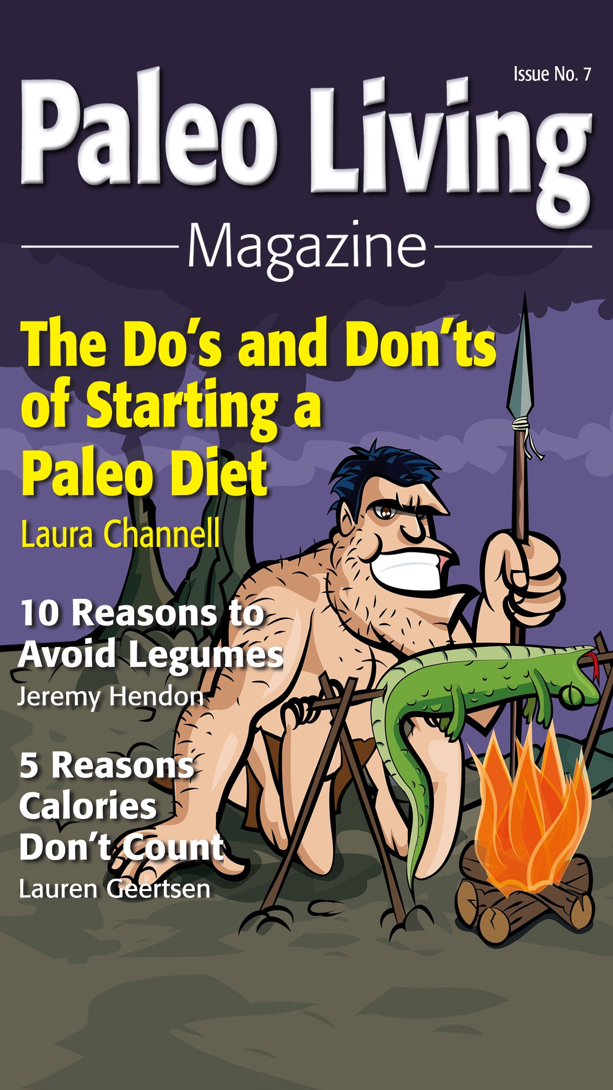 Paleo Living Magazine - Recipes & Meal Plans Screenshot