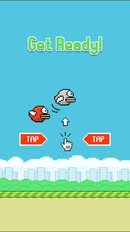 Fat Bird Rolling: Just Flappy Hard In Color Sky