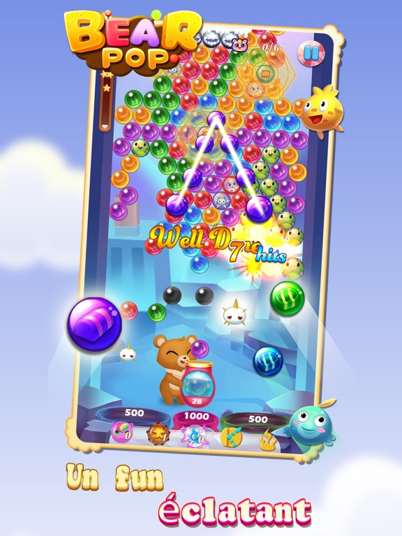 Screenshot #4 pour Bear Pop - Bubble Shooter Game