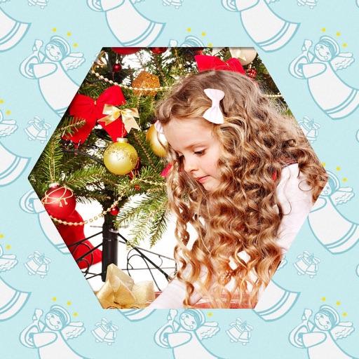 Christmas Tree Frames - insta frames for photo