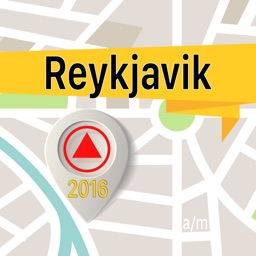 Reykjavik Offline Map Navigator and Guide