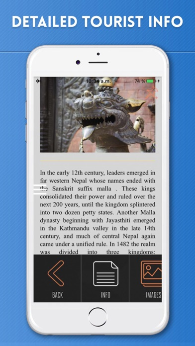 Nepal Travel Guide with Offline Maps - by eTips LTD - Maps