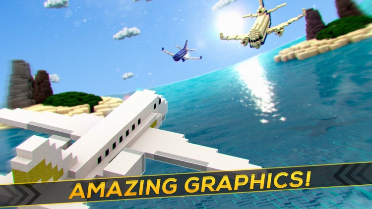 Aircraft Survival: Flight Simulator Planes Game
