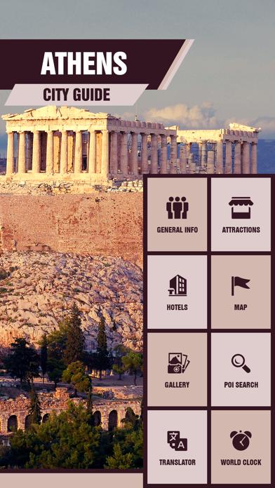 Athens Tourist Guide screenshot two