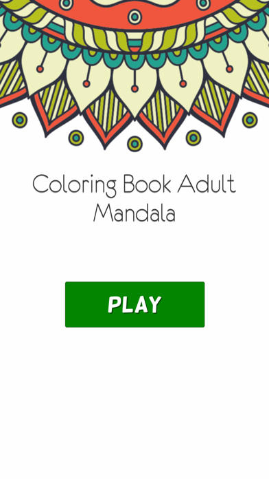 Coloring Book For Adults Pigment Pages Relaxation-4