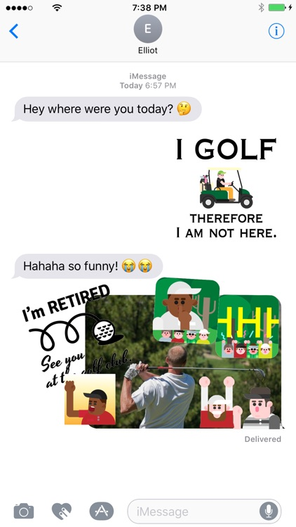 Golfmoji - Golf Emojis and Stickers screenshot-2