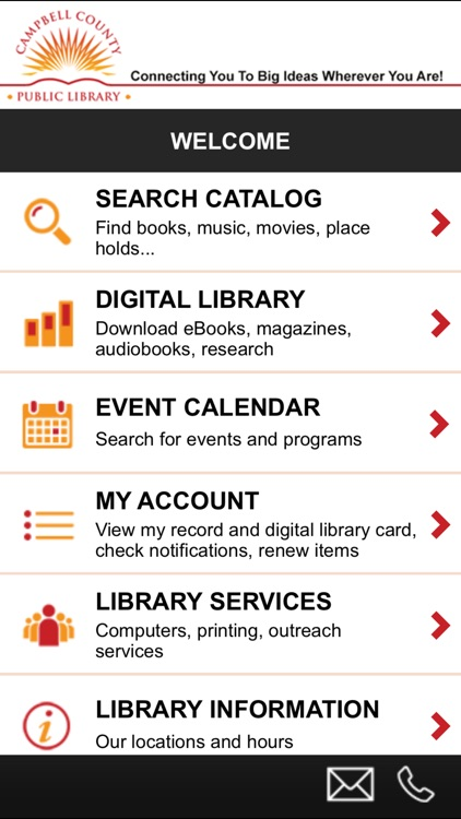 Campbell County Public Library App