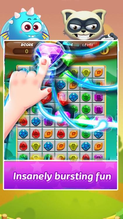Jewel Splash - Puzzle Jewels Mania