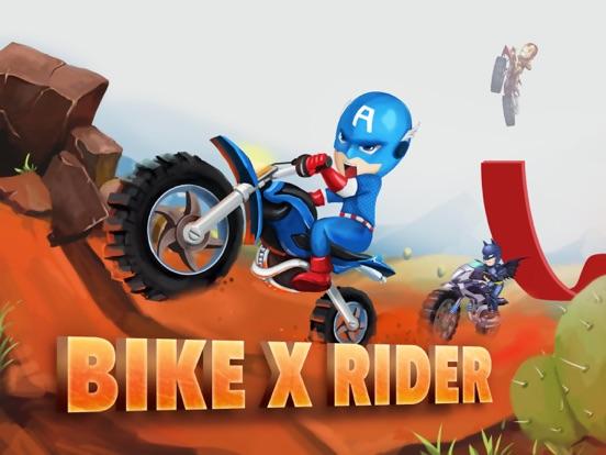 Bike X Rider-Motorcycle Games-ipad-0