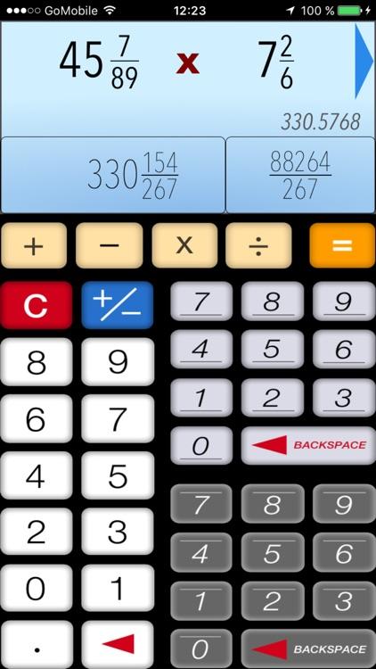 Calculator of Fractions