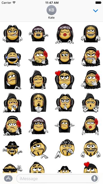 HomieMojis - Homie Emoticons Stickers