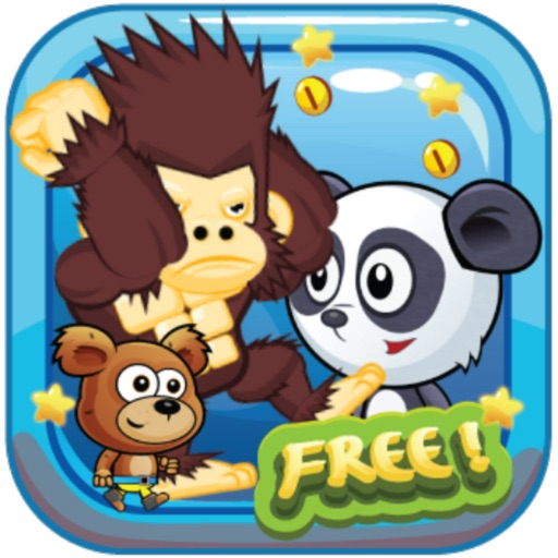 Banana Zoo Adventure Kong Animal Running Game For Kids By Anchalee